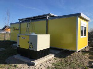 Hybride generator voor Boskalis aggregaat
