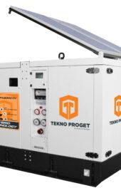 hybride aggregaat met zonnepanelen kopen