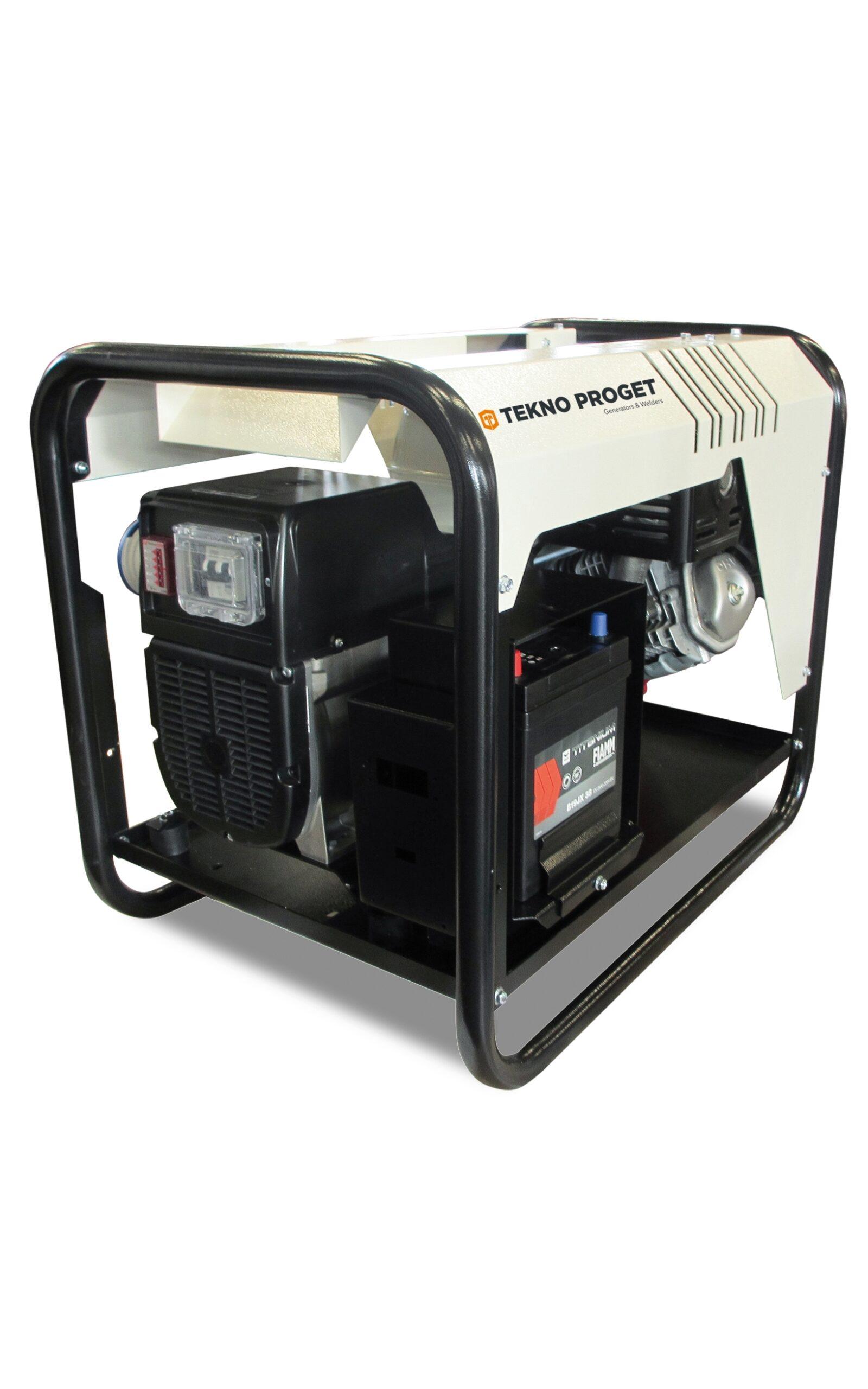 benzine generator Honda elektrische start 6000 Watt-kopen